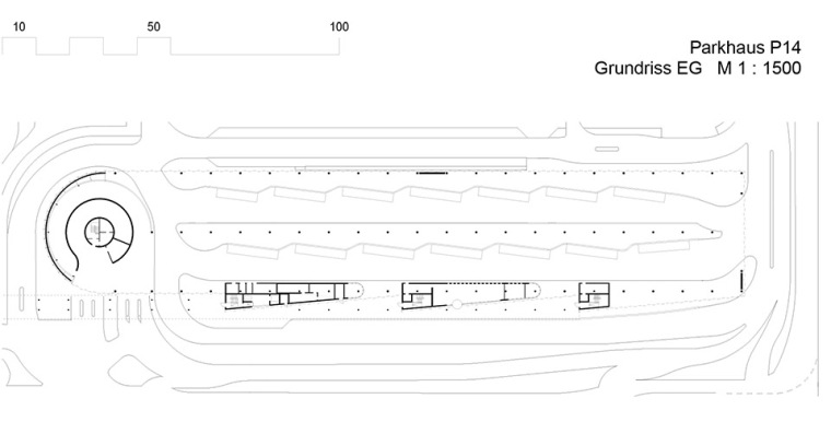 斯图加特机场公交枢纽及停车场建筑-16