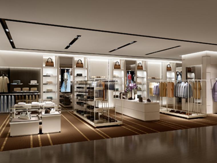 商场服装店3D模型下载