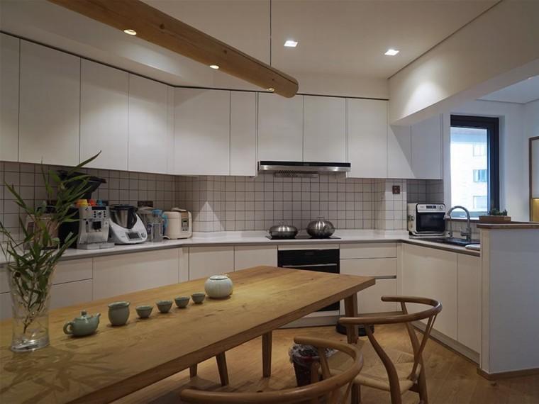 充满现代日式风格的居住空间