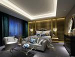欧式精美卧室3D模型下载