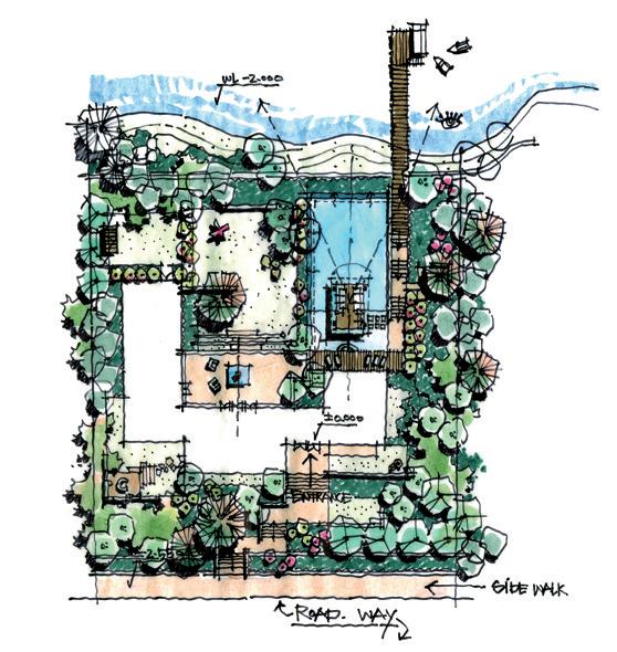 解析设计草图表达 |景观设计思维