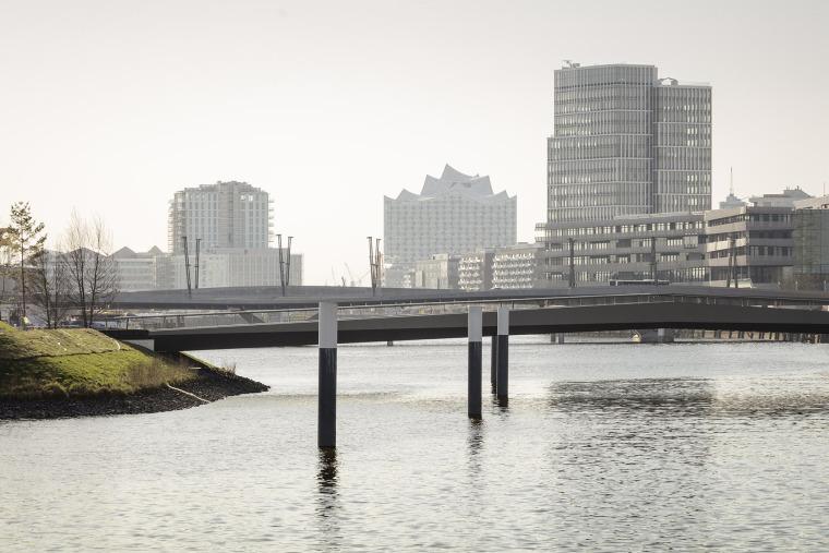 巴肯港步行桥景观实景图 (1)
