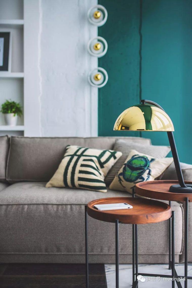色彩灵动的北欧简约公寓,无可挑剔的美_3