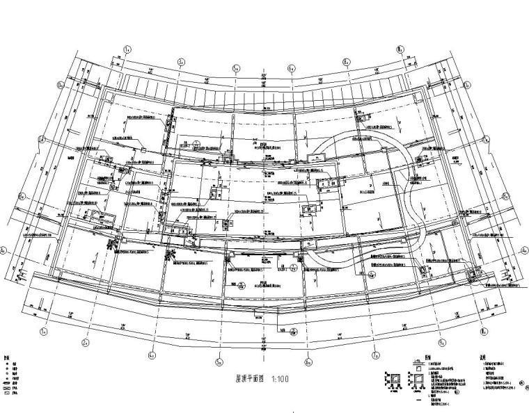 [浙江]某市市民中心楼房建筑施工图cad(56个文件夹)_7