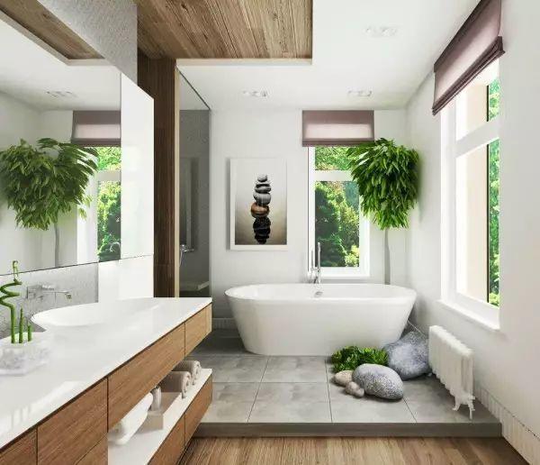 洗手间的设计也能让人流连忘返