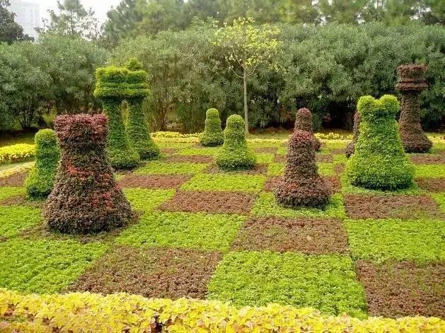 80个极美植物雕塑_53