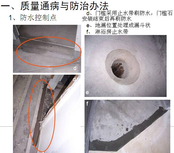 房屋精装修工程质量控制要点(附多图)