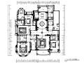 [陕西]简欧风格样板间设计CAD施工图(含效果图)