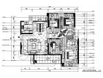 欧式样板房设计CAD施工图(含效果图)