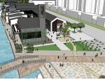 湖滨公园景观设计(SU模型)