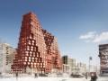 "MVRDV在莫斯科设计RED7住宅项目,将电子游戏""我的世界""变为"