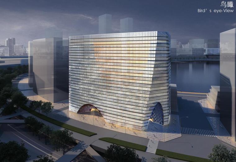 [河南]郑东新区龙湖建筑设计方案文本(PPT+80页)
