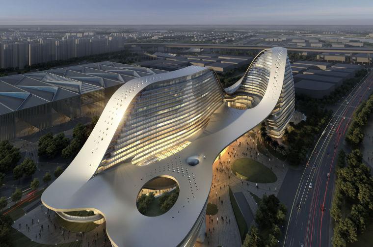 [上海]世博高层现代酒店建筑设计方案文本