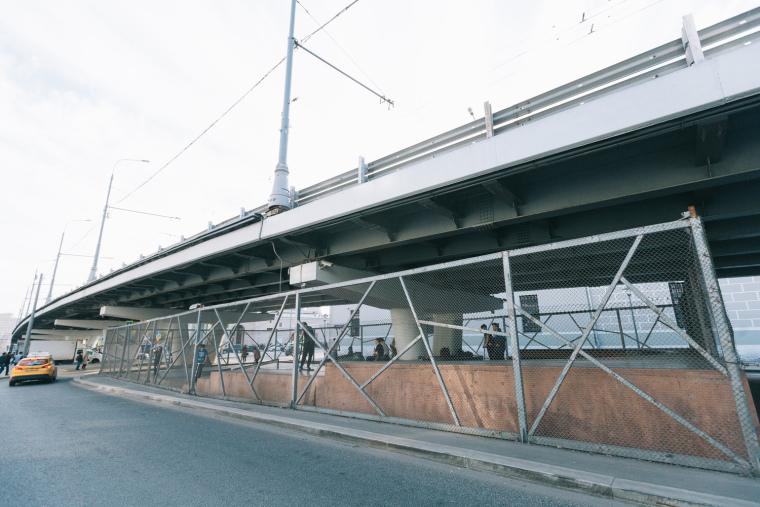 克雷姆斯基大桥的滑板公园-3