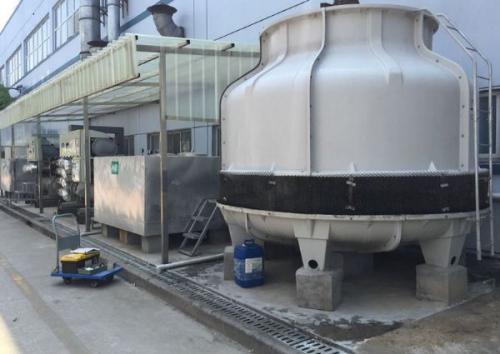 给排水施工案例之炼钢工程净循环水处理站冷却塔施工方案