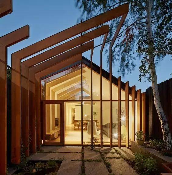 超有设计感的建筑入口_13