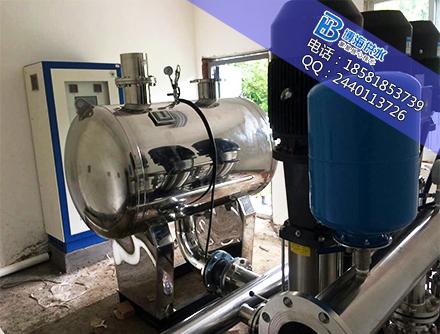 陕西高层二次供水设备多少钱?