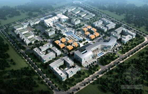 [山东]现代工业风格科技办公楼建筑设计方案文本(知名设计院设计)