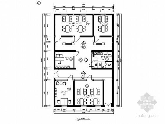 [原创]中式风格幼儿园校园文化建设室内装修施工图(含方案效果图 推荐!)