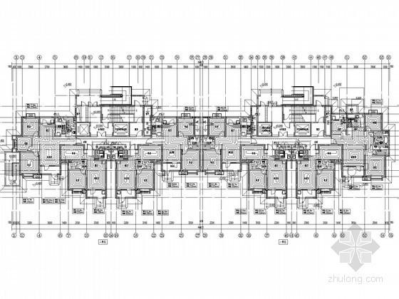 [河北]高层住宅建筑采暖通风系统设计施工图(人防设计)