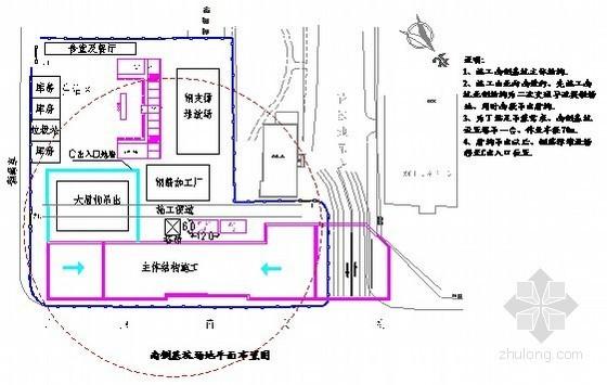 [北京]22米深基坑地下连续墙加四道钢支撑支护施工方案(下穿既有桥梁 附图丰富)