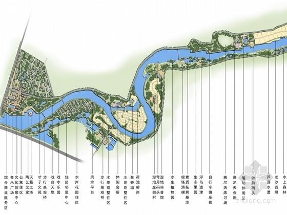 [南昌]休闲度假沿河高档居住区景观概念规划设计方案