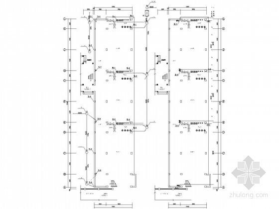 [广东]4层幼儿园给排水图纸