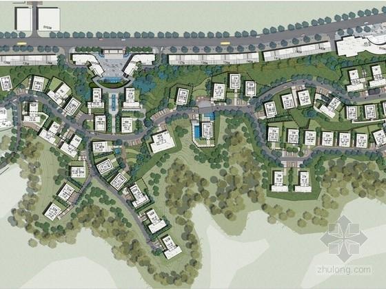 [广东]高档花园别墅区景观规划设计方案(著名设计公司)