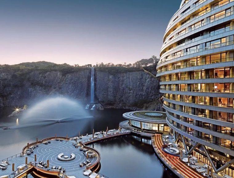 投入20亿的工程奇迹深坑酒店终于开业了,内部设计大曝光!_15