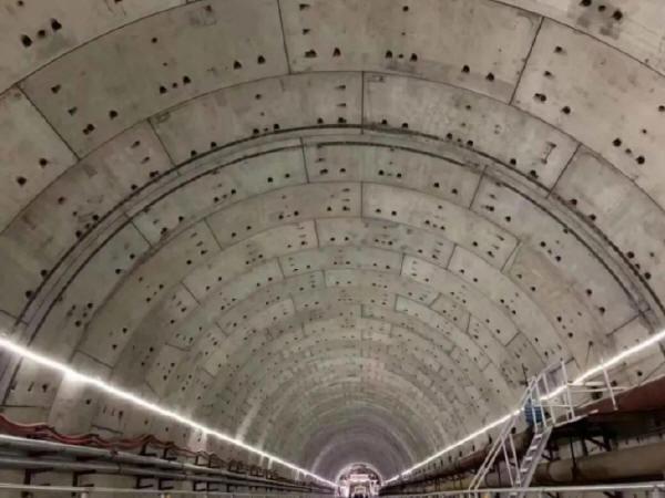 汕头海湾隧道工程节节推进,预计2020年初实现贯通!