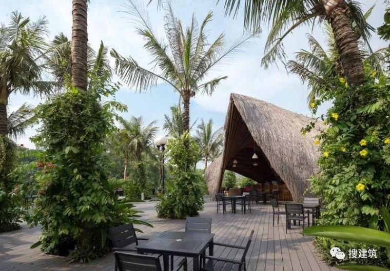 """竹结构—— 展览亭""""变""""酒吧和餐厅!!"""