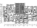 【天津】美式工业风住宅设计施工图(附效果图)