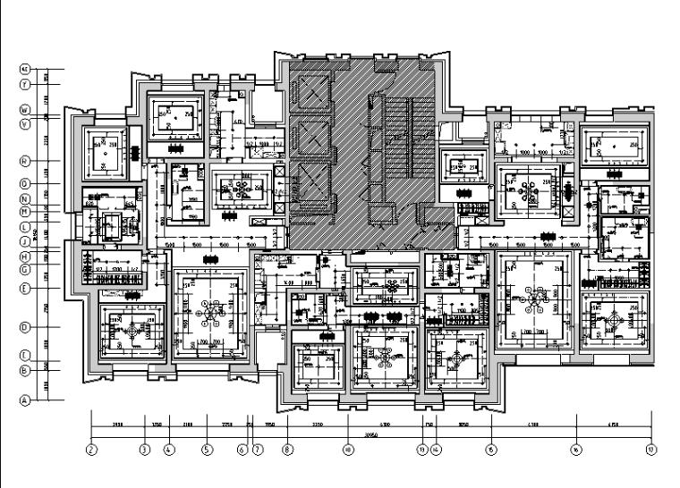 [天津]美式工业风住宅设计施工图(附效果图)