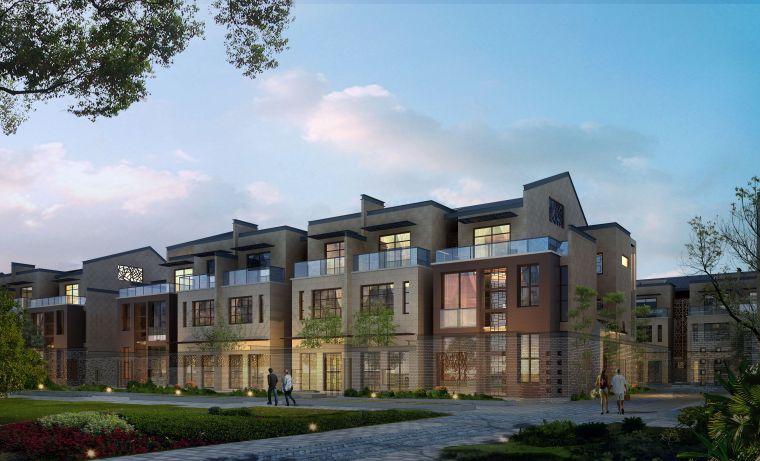高清青石居住区中式园林建筑模型(3dmax)-青石中式园林建筑模型17