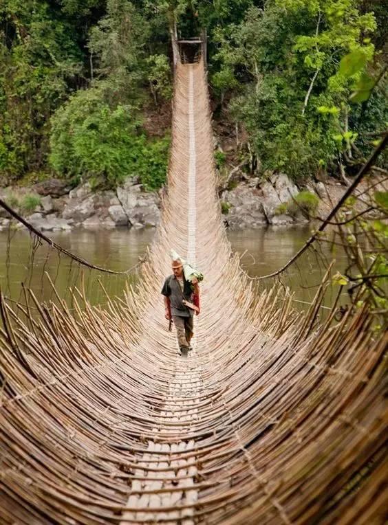 不可思议的桥,竟还有用水做的……_3