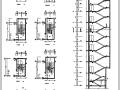 民航酒店高层宾馆建筑设计全套施工图(CAD)