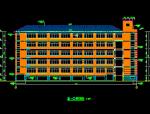 杭州余杭区某中学建筑施工图带总图