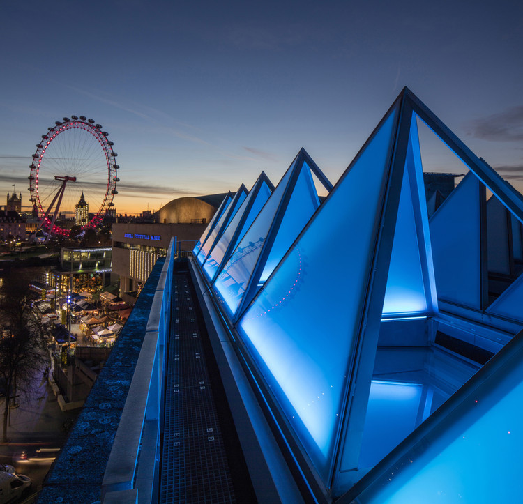 伦敦海沃德美术馆改造完工,新建筑空间引发艺术盛典