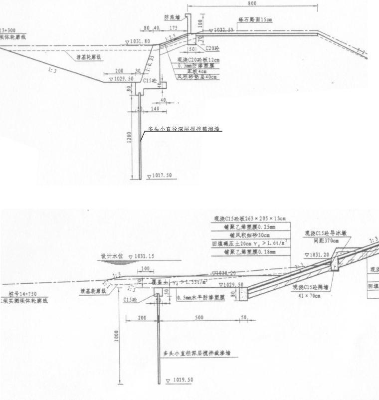 水库新坝施工组织设计方案