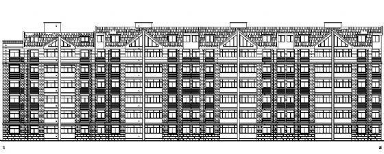 某多层住宅楼建筑施工图