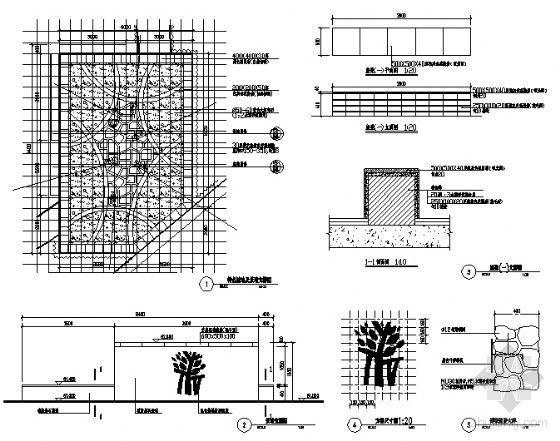 特色景墙详图-4
