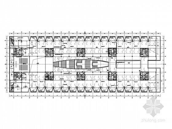 大型知名博物馆全套电气施工图纸97页(知名设计院)