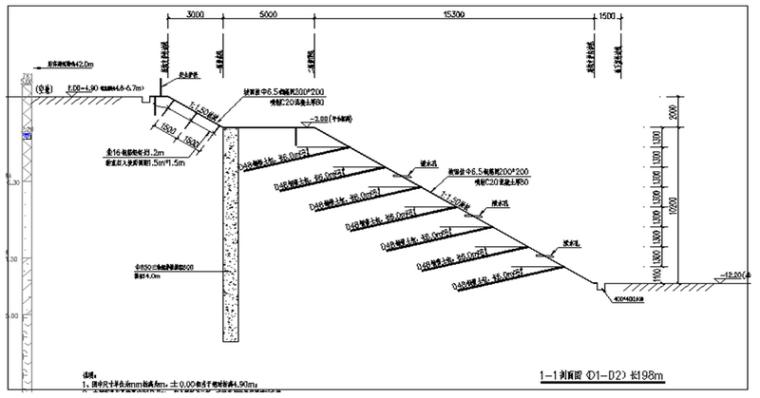 [广东]框剪结构办公楼工程基坑支护安全施工组织设计(89页)