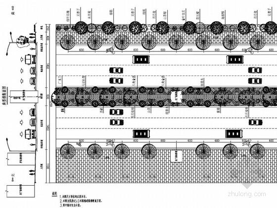 道路工程景观绿化设计施工图(24页)