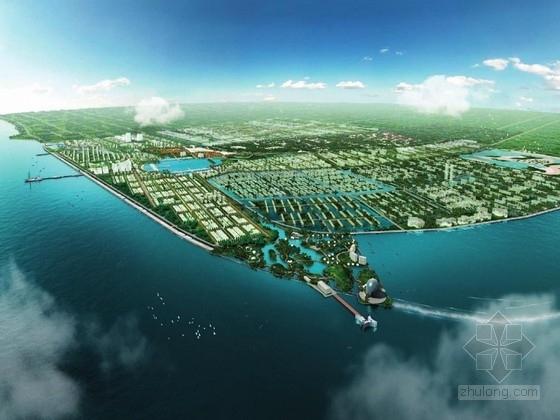 """[江苏]""""三江""""滨水旅游区景观设计方案"""