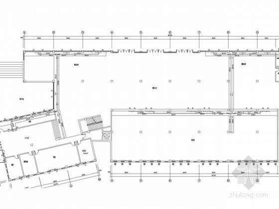 [河北]小型室内滑雪场建筑采暖系统设计施工图(含给排水设计)