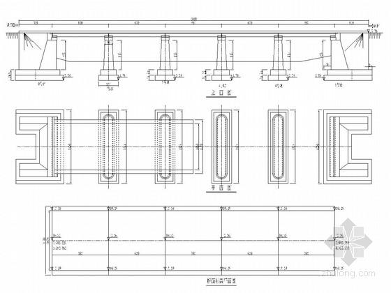 5x6m钢筋混凝土板桥全套施工图(18张)