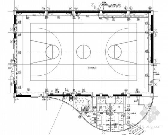 [山东]小学学区建筑通风采暖及防排烟系统设计施工图(含采暖、水力计算书)