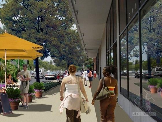 [国外]街区道路景观设计方案(英文文本)