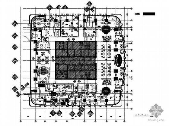国贸大厦康体中心设计施工图(含实景照)